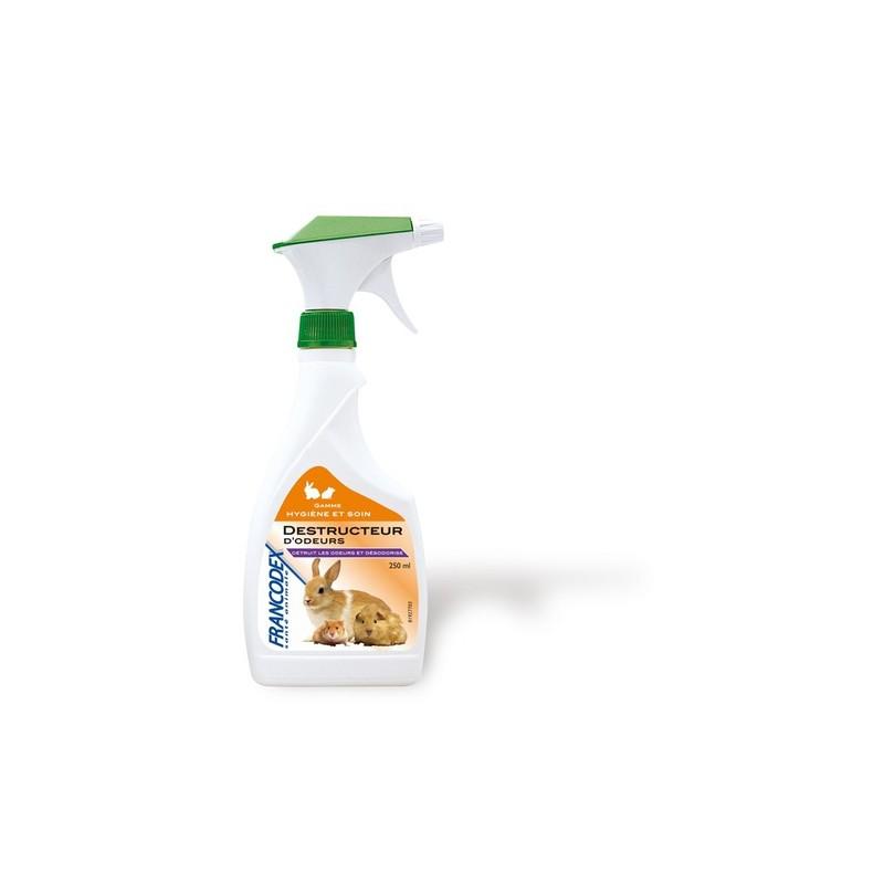 Destructeur d 39 odeurs pour rongeurs 250ml espace pro animaux - Destructeur d odeur ...