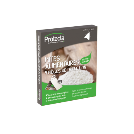 PIEGES ANTI-MITES ALIMENTAIRES/LOT DE 4