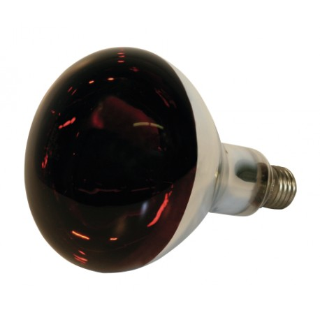 LAMPE INFRAROUGE EN VERRE TREMPEE