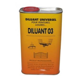DILUANT POUR LASURE 0,5L