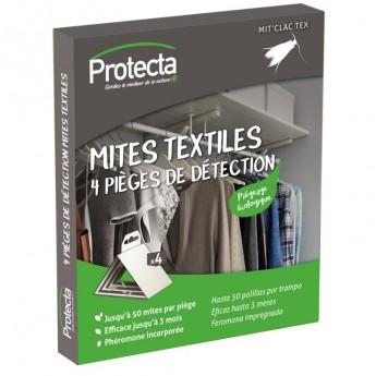 PIEGES ANTI-MITES TEXTILE/LOT DE 4