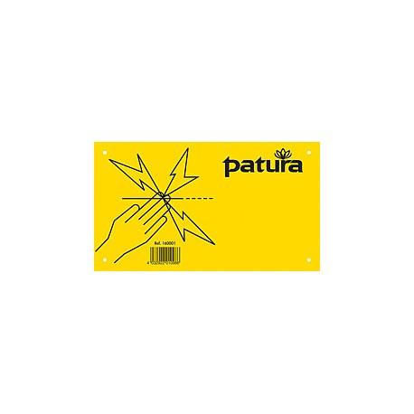 PANNEAU AVERTISSEUR - CLOTURE ELECTRIQUE